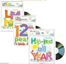 Read Along LMNO Peas,123 Peas,Hap-Pea All Year  by Keith Baker (3 Paperback/CD)