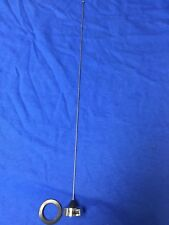 VHF 150-162 MHz NMO 1/4 WAVE ANTENNA CHROME