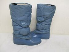 Sorel Canada Blue Insulated Snow Winter Boots Womens Size 8