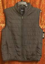 Chaps Vest Full Zip Light Weight New With Tags Combat Gray Mens Large