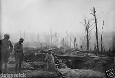 French Army Soldiers Trench World War 1, Reprint Photo 7x5 Inch