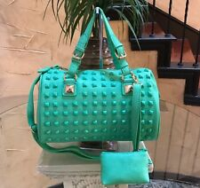 NWT Designer Inspired Westren Fashion Handbag With Cosmetic Pouch.