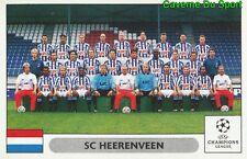 134 TEAM SQUADRA SC.HEERENVEEN STICKER PANINI CHAMPIONS LEAGUE 2000-2001