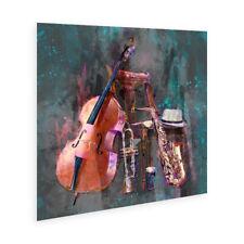 "Irish Jazz instruments ""All That Jazz"" Wall Art Poster"