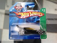 Hot Wheels Diecast T-hunt Drift King 11/12 Moc Tarjeta Corta 2007
