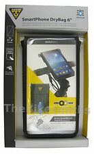 "Topeak TT9840B Smart Phone Dry Bag 6"" Inch Waterproof Apple iPhone 6 Samsung"