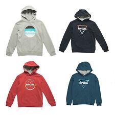 Rip Curl Boy' Big Logo Classic Hoody Teens Pullover Fleece Jumper Warm Size 8-16