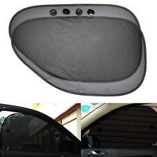 2 Pcs Car Side Rear Window Sun Shade Mesh Cover Visor Shield Sunshade UV Protect