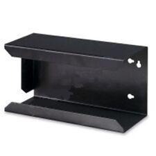 Wandhalterung f. Handschuhbox, Handschuhbox-Halterung, aus Metall, schwarz matt