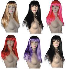 Damen Perücke Sexy Glatt Cosplay Kostüm Party Langhaar Damenperücke Wig