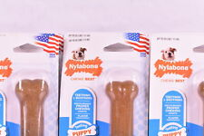 LOT OF 6 Nylabone Just for Puppies Regular Chicken Flavored Teething Bone