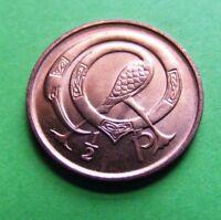Brilliant Uncirculated 1978 Irish Decimal Half Penny Coin Ireland Irland Irisch