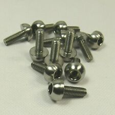 Honda CBR929 RRY-RR1 Fireblade 00-'01 Set Of 12 Stainless Steel Front Disc Bolts