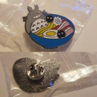 TOTORO Pin brooch in RAMEN  BOWL STUDIO GHIBLI free UK delivery