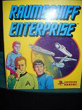 Sammelbilderalbum Raumschiff Enterprise Panini, 55 Fotos drin, sehr gut erhalten
