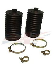 New Pair Steering Rack Bellow Boots w Metal Clamps Triumph TR7 TR8 Made in UK