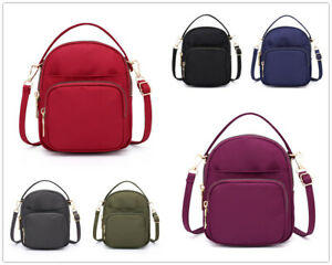Nylon Women's Shoulder Satchel Grils MINI Travel Bag Waterproof Handbag