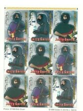 MONGOLIA 1999 - JERRY GARCIA - Sheet of 9 - MNH