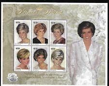 Guyana 1997 Mnh Diana, Princess Of Whales