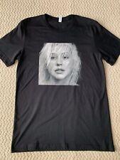 New Christina Aguilera Liberation Tour Merchandise Face Tour City Tee Shirt Sz L