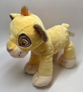 "Disney Baby Lion King SIMBA Stuffed Animal Plush Rattle Toy 9"""
