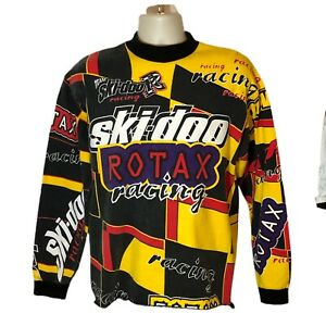 VTG Ski-Doo Sno Spell Out Gear Rotax Snowmobile Racing  Shirt Long Sleeve  M