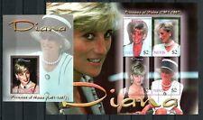 Nevis 2003 Lady Diana Royalty Brit. Königshaus 1863-1866 + Block 224 MNH