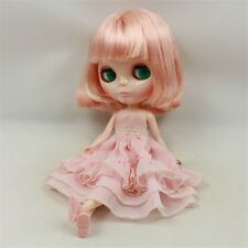 "TAKARA 12"" Neo Blythe Nude Doll From Factory With Short Wig for Custom Blythe"