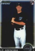 2010 Bowman Chrome Draft Baseball #BDP103 J.P. Arencibia RC Toronto Blue Jays
