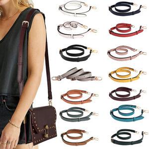 Durable PU Leather Long Strap Replacement for Bag Handbag Crossbody Purse Duffel