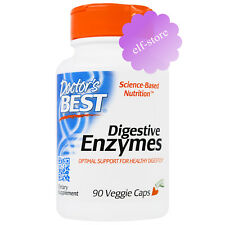Doctor's Best, Digestive Enzymes, 90 Veggie Caps