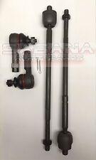 *NEW* Fits Mitsubishi Mirage 2014-2016 Inner & Outer Tie Rod End Kit 4 Pieces