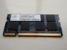 Nanya NT1GT64U8HB0BN-3C PC2-5300S 1GB DDR2 667MHz RAM Memory