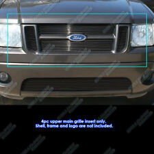 Fits 01-03 Ford Explorer Sport/01-05 Sport Trac Main Upper Billet Grill