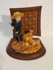 The Amish Heritage Collection Autumn Leaves Limited Edition First Issue #30036