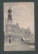 Clacton-on-Sea Town Hall postcard sent 1906 Miss Shulver Seaview Wight  R18