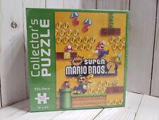 """Super Mario Bros. 2 Collector's Puzzle 550 Pieces 18""""x 24"""" Jigsaw 2013"""