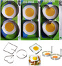 2x Metal Egg Frying Rings Perfect Round/squre/heat shape Fried Poach Kitchen Mou