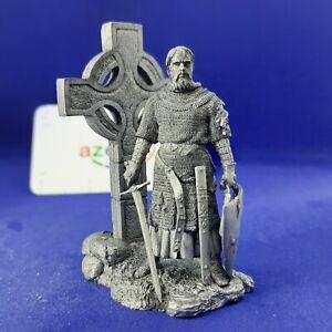 Robert I Bruce King of Scotland 1306-1329 Year 1/32 Scale Unpainted Tin Figure