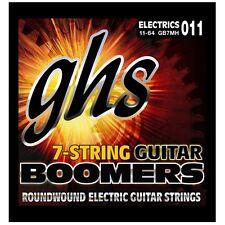 GHS Strings GB7MH Boomers 7-String Medium Heavy Guitar Strings (11-64) +Picks