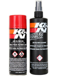 K&N AIR FILTER RECHARGER CLEANING KIT KN99-5000 CLEANER OIL RECHARGE KIT SERVICE