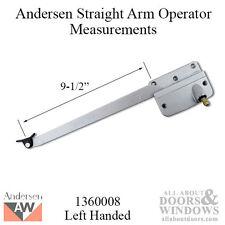 Door Hdwe 1360008 Left Hand Window Operator Anderson 7095