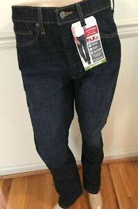 NWT Men LEVI STRAUSS Signature Blue Jeans Denim s51 Straight Flex Modern Fit