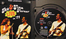 Ike and Tina Turner - Live in 71 (DVD, 2004, With Bonus CD)