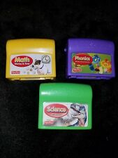 Fisher Price Power Touch Cartridges Set of 3 Math Science Phonics