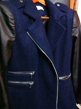 Calvin Klein Women's wool Coat Size Petite Large Retail $ 360.00