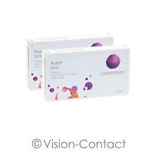 Avaira toric 2 x 3 torische Kontaktlinsen Monatslinsen von Cooper Vision