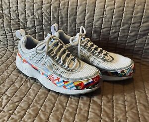 Girls Olympic Nike Air Zoom Spiridon Sneakers Tennis Shoes Size 4