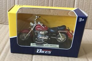 LEGENDARY BIKES- KAWASAKI VULCAN 1500 CLASSIC 1/18 MOTORCYCLE DIECAST,WELLY,MIB