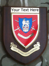 Army Training Centre Pirbright Personalised Military Wall Plaque UK Made for MOD